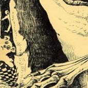 Childish Dreams by Judah Fansler. Ink pens, sharpie