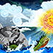 Battling Elements by Judah Fansler - Design Ninja, Artist, Owner at Judah Creative