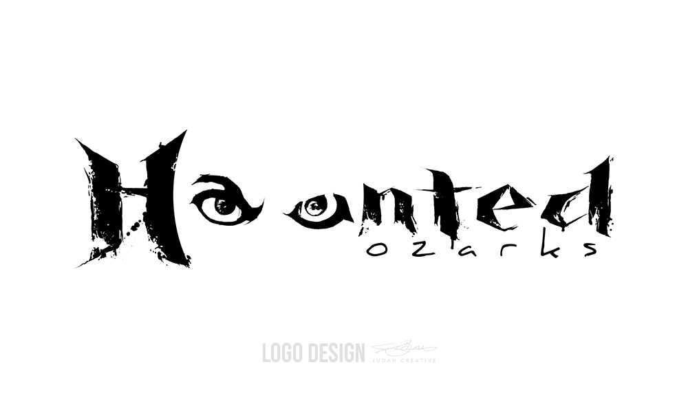 Logo Design Haunted Ozarks