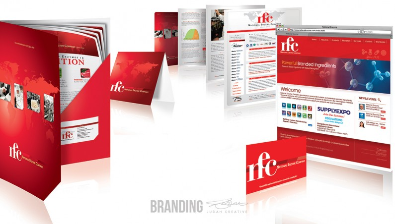 Corporate Branding by Judah Creative (Branson, MO - Springfield, MO). Business card design, flyer design, folder design, technical info sheet design, rack card design, website design