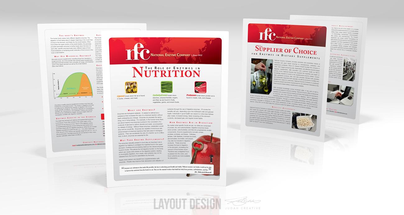Flyer Layout Design by Judah Creative (Branson, MO - Springfield, MO)