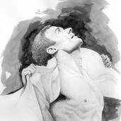 Portrait Illustration by Judah Creative (Branson, MO - Springfield, MO) - Graphite, Ink Wash