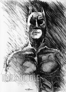Dark Rain by Judah Fansler (Yet another Daily Doodle) - Design Ninja, Artist, Owner at Judah Creative near Branson & Springfield, MO.