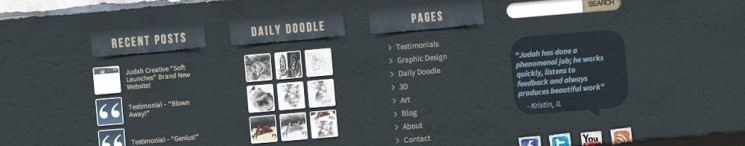 Judah Creatrive New Website