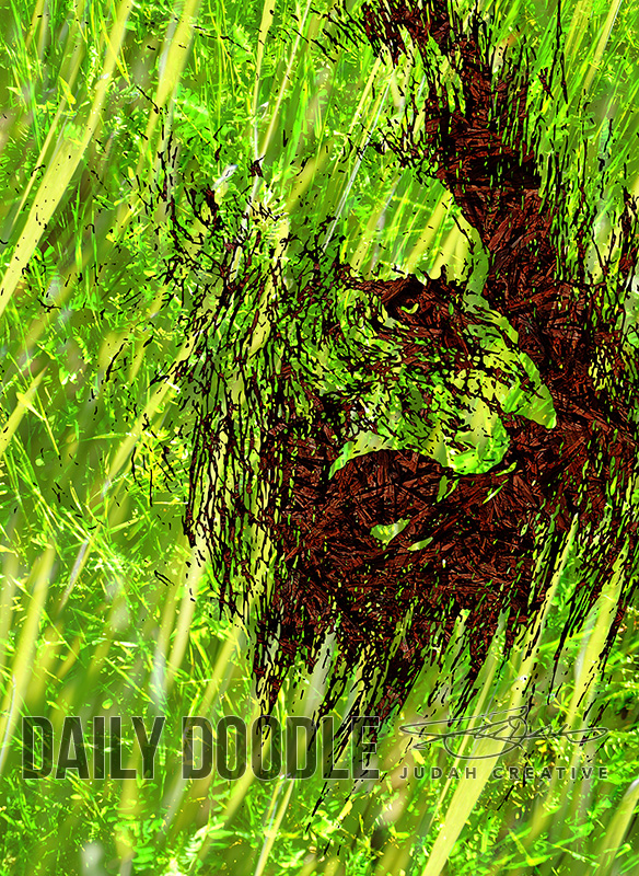 Adversary - Texture test - phase 1 by Judah Fansler (Yet another Daily Doodle) - Design Ninja, Artist, Owner at Judah Creative, a Graphic Design & Illustraiton Studio near Branson & Springfield, MO.