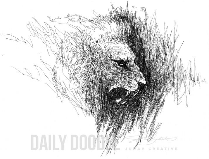 Adversary by Judah Fansler (Yet another Daily Doodle) - Design Ninja, Artist, Owner at Judah Creative, a Graphic Design & Illustraiton Studio near Branson & Springfield, MO.