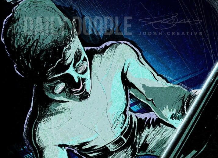 Cracking Code: Sci Fi Book Illustration Coloring