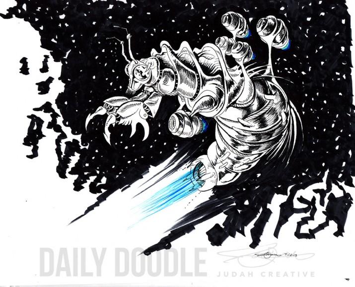 Locust: Sci-Fi Creature Design: 312 Universe by Judah Fansler