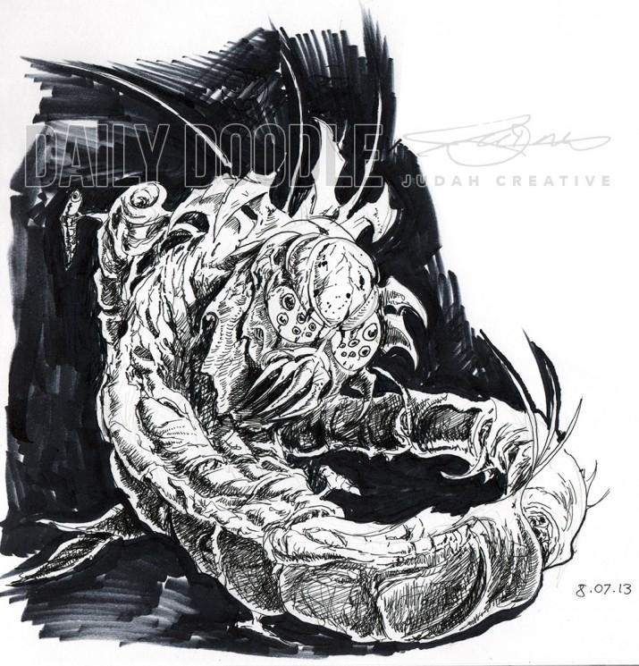 Sci-Fi Creature Design: Killer Locust 2