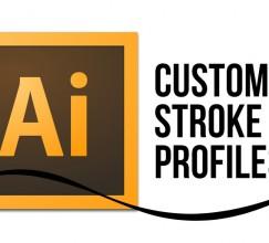 Video Tutorial - Edit Custom Stroke Profiles: Adobe Illustrator CS6, CS5, CS5.5