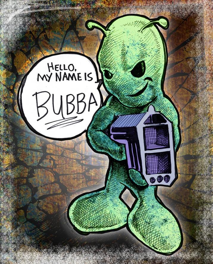 09.11.13 evil Bubba by Judah Fansler
