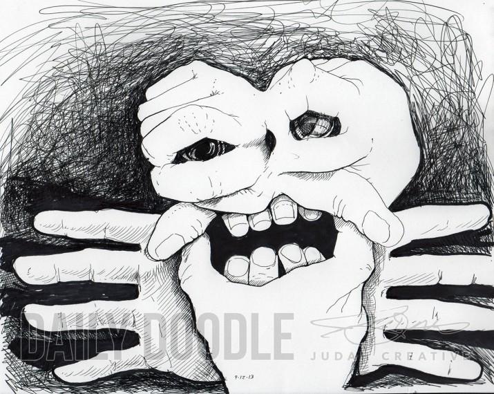 09.12.13 Finger Face by Judah Fansler
