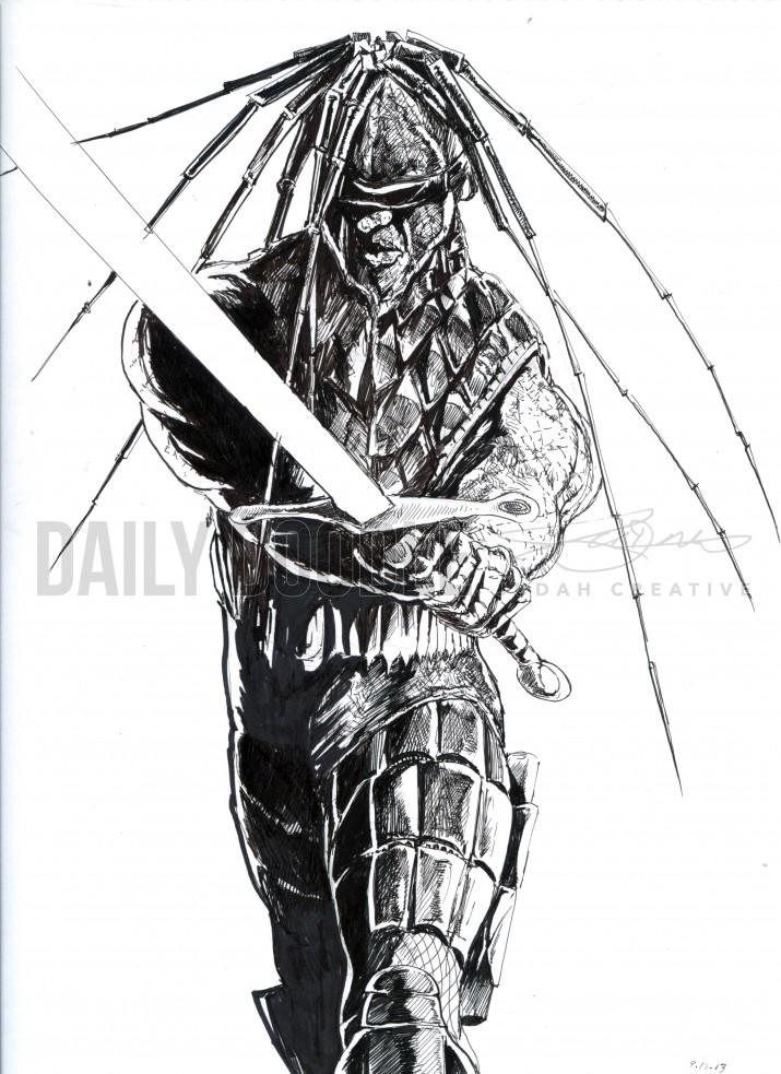 09.18.13 312 Gangster by Judah Fansler by Judah Fansler – Design Ninja, Artist, Owner at Judah Creative: Graphic Design & Illustration studio near Branson and Springfield, MO.
