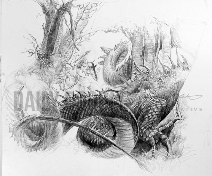 091913 Howe Study - St. Georg - Phase 6 by Judah Fansler – Design Ninja, Artist, Owner at Judah Creative: Graphic Design & Illustration studio near Branson and Springfield, MO.