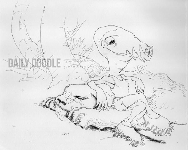 010814 Little Rest by Judah Fansler - Artist, Design Ninja at Judah Creative