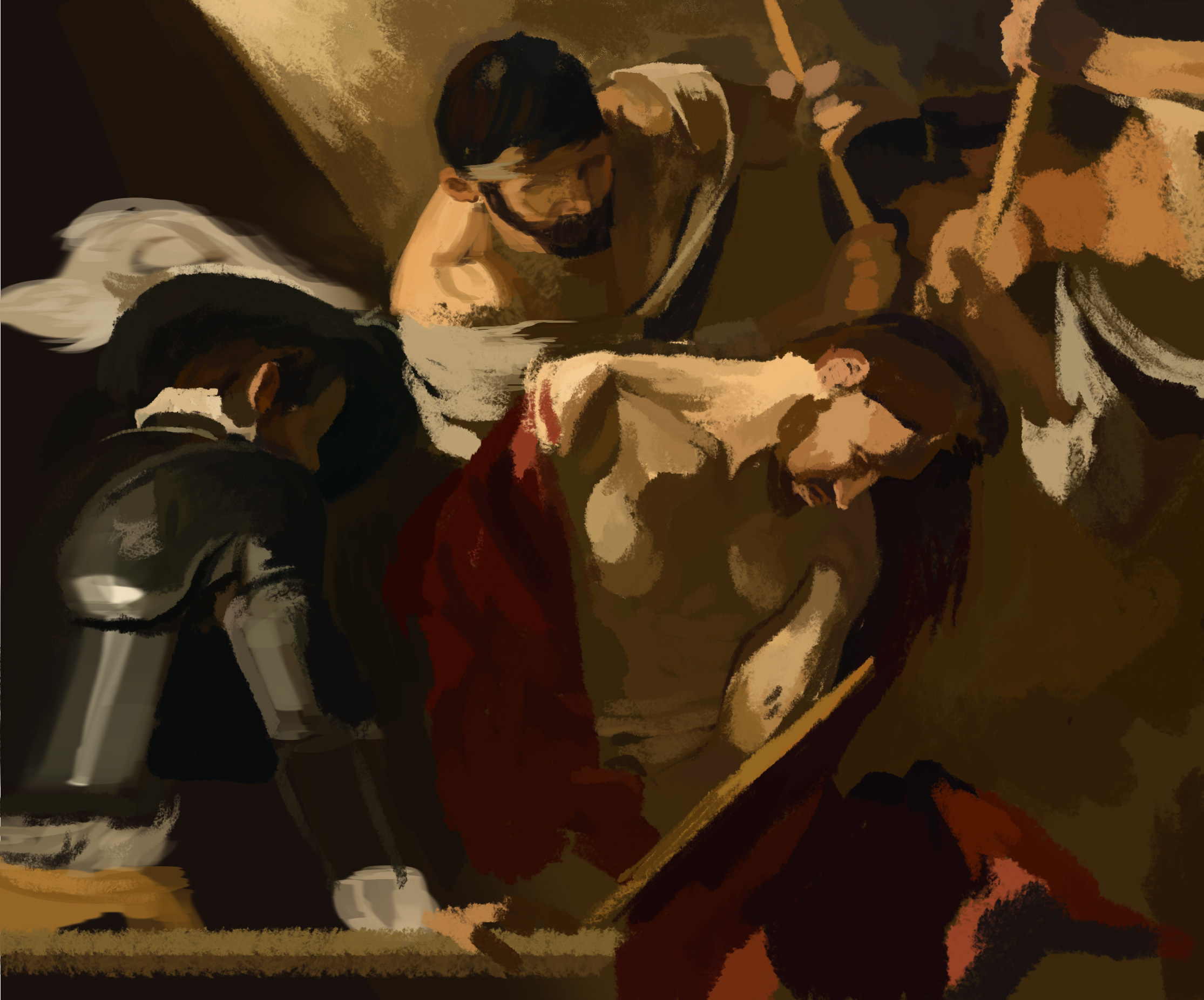 Digital Painting Doodle #16: Study of Caravaggio's The ...